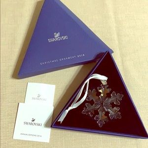 New Swarovski ornament , always boxed Collectable